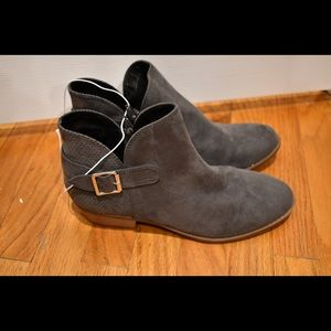 Brand new justice grey booties